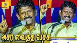 இந்தி - ஆங்கிலத்தை திட்டமிட்டு திணிக்கிறார்கள் | IAS Sagayam hilarious speech
