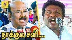 கருணாசுக்கு வாயில சனி : Jayakumar condemns on Karunas provocative speech | Koovathur Issue
