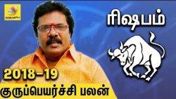 Rishaba Rasi Guru Peyarchi Palangal 2018 to 2019 | Tamil Astrology Predictions | Abirami Sekar