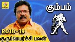 Kumbha Rasi Guru Peyarchi Palangal 2018 to 2019 | Tamil Astrology Predictions | Abirami Sekar