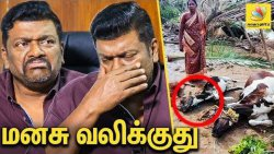 Media ஏன் கண்டுக்கல : R Parthiban Emotional Interview | Gaja Cyclone