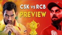 IPL 2019 : CSK Vs RCB Match Preview | MS Dhoni , Virat Kohli | Cricket News