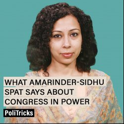 PoliTricks : Amarinder-Sidhu spat shows Congress can't keep house in order even in states where it's in power