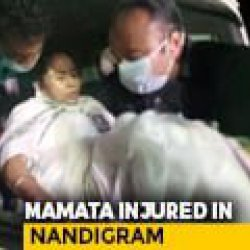 Mamata Banerjee Sustains Leg Injury, Says Attacked by 4-5 People