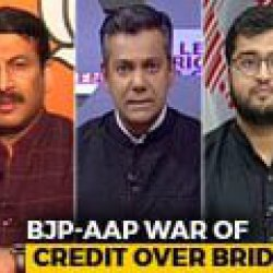 Manoj Tiwari-AAP Face-Off Over Violence At Delhi Bridge Opening