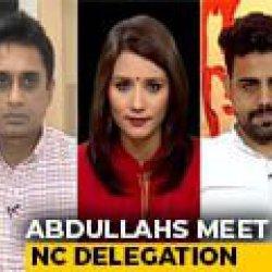 Abdullas Meet Party Delegation, Mehbooba Mufti To Meet Tomorrow