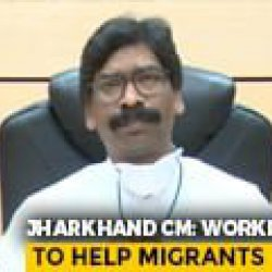 7 Lakh Labourers From State Stuck Across Country: Jharkhand Chief Minister Hemant Soren