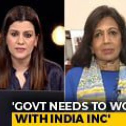 Indian Government Needs To Work With India Inc: Kiran Mazumdar Shaw