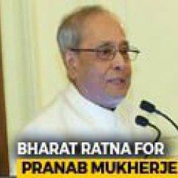 In Bharat Ratna For Pranab Mukherjee, A Lifelong Congress Man, A Message