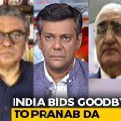 India Bids Goodbye To Pranab Mukherjee