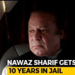 10 Years Jail Sentence For Former Pak PM Nawaz Sharif