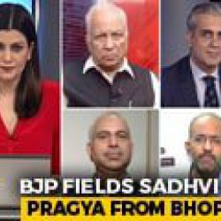 BJP Fields Sadhvi Pragya From Bhopal: Back To Hardline Hindutva?