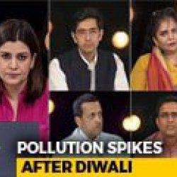 Pollution Spikes After Diwali: Fireworks Order Backfires?