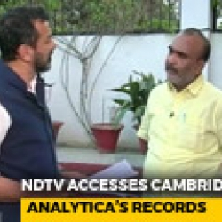 Cambridge Analytica: India Power Games?