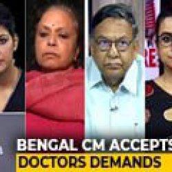 Should Mamata Banerjee Use Law To Bring Back Doctors?