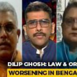 Bengal Has Mafia Raj Like UP, Bihar: Dilip Ghosh