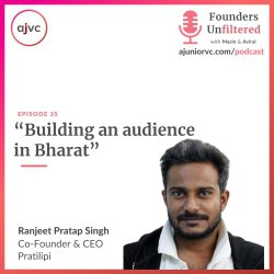 Ep35: Building an audience in Bharat ft. Pratilipi