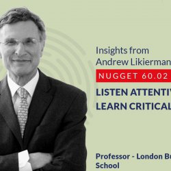 632: 60.02 Andrew Likierman - Listen attentively; learn critically