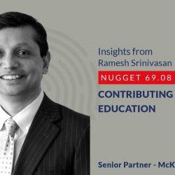 641: 69.08 Ramesh Srinivasan - Contributing to Education