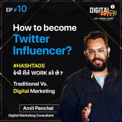 Once an MBA Dropout - Now Charging 15,000 Rs for 1 Tweet - Ft. Amit Panchal (આપણા અમદાવાદી)