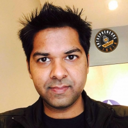 EI-074: A ChatBot that delivers coffee – Interview with Rabi Gupta, EvaBot