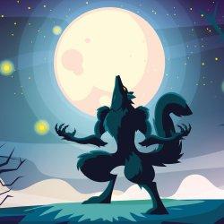 Katie and the Werewolf