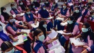 'ஹால் டிக்கெட்' உடன் முகக்கவசம் - பள்ளி கல்வித்துறை உத்தரவு