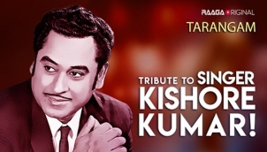 Tribute to singer Kishore Kumar!