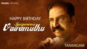 Happy Birthday Kaviperarasu Vairamuthu Sir
