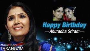 Happy Birthday Anuradha Sriram!!!