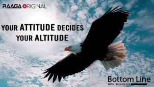 Your attitude decides your altitude