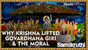 Why Krishna lifted Govardhana Giri & the Moral
