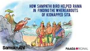 How Sampathi bird helped Rama in finding the whereabouts of kidnapped Sita