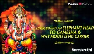 Logic behind an Elephant head to Ganesha & why mouse is his carrier