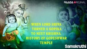 When Lord Shiva Turned a Gopika