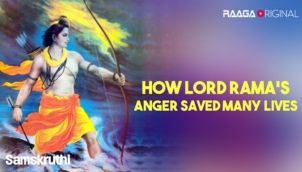 How Lord Rama's anger saved many lives