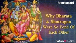 Why Bharata Shatrugna Were so Fond of Each Other