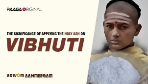 The Significance of Applying The Holy Ash or Vibhuti
