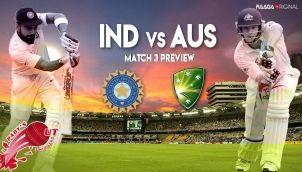 Ind vs Aus - Match 3 Preview