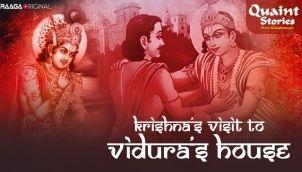Krishna's Visit To Vidura's House
