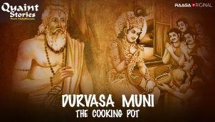 Durvasa muni & the cooking pot