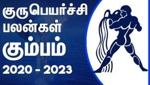 Kumbham Rasi (Aquarius) Sani Peyarchi Palangal 2020-2023