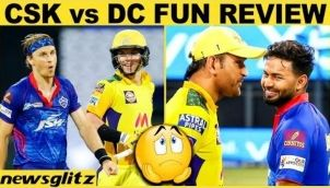 Shikhar Dhawan, Prithvi Shaw Dominate CSK Bowlers   IPL 2021   MS Dhoni