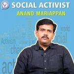 Social Activist - Anand Mariappan