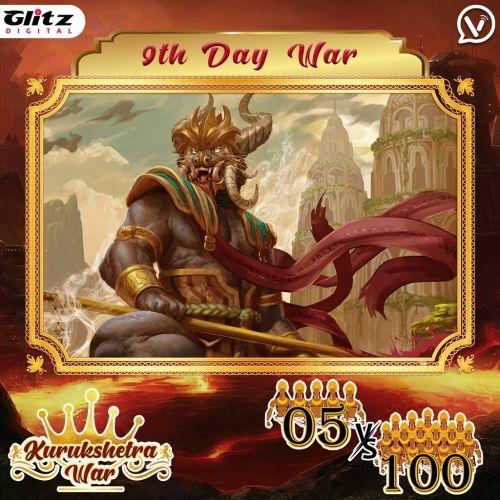 Day 9 : Kauravas - Square Formation vs Pandavas -  Constellation Formation   Kurukshetra War