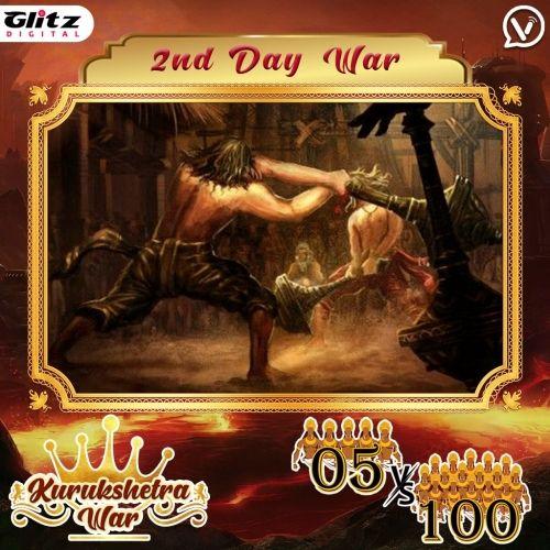 Day 2 : Kauravas - Eagle Formation vs Pandavas - Heron Formation | Kurukshetra War
