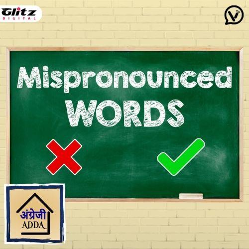 Mispronounced Words | Angrezi Adda | English Pronounciation