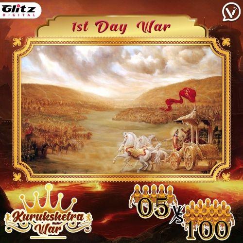 Day 1 : Kauravas - Galaxy Formation vs Pandavas - Thunderbolt Formation   Kurukshetra War