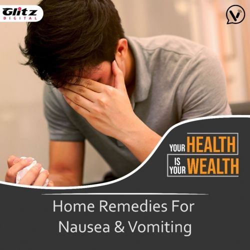 Home Remedies For Nausea & Vomiting