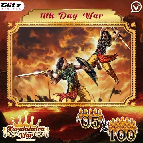 Day 11 : Kauravas - Shakata Vyuha vs Pandavas - Krauncha Vyuha    Kurukshetra War